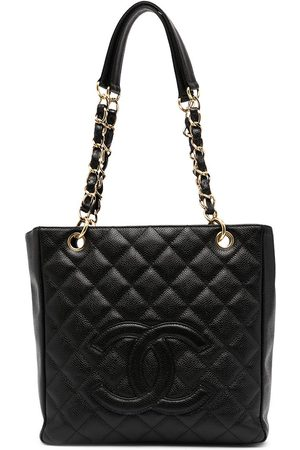 CHANEL Women Tote Bags - 2004 quilted CC tote bag