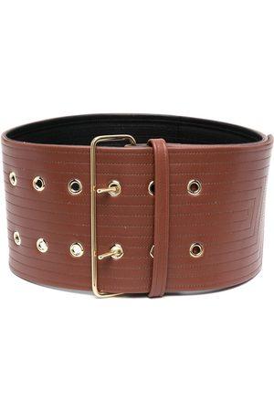 Jil Sander Women Belts - Double-buckle wide belt