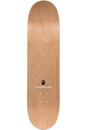 A Bathing Ape Men Swimwear - Leopard-print skateboard