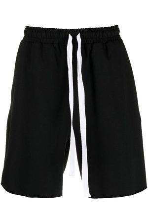 Alchemy Men Shorts - Stretch-cotton drawstring shorts