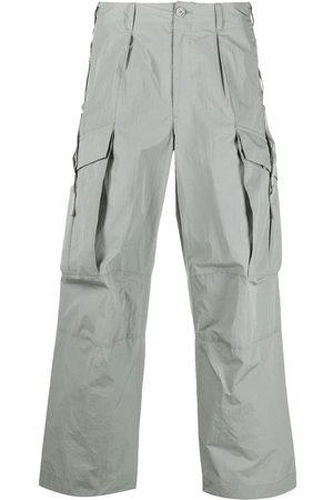 ATTACHMENT Men Cargo Pants - Straight-leg cargo trousers