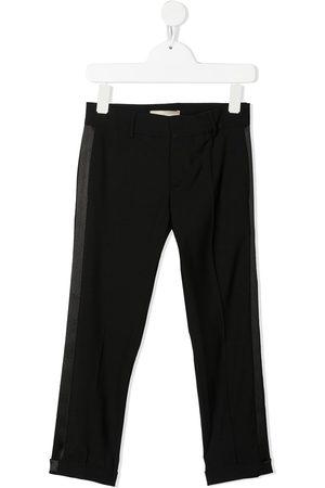 ELIE SAAB JUNIOR Side stripe slim trousers