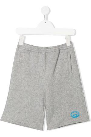 Gucci Boys Shorts - Logo-print track shorts