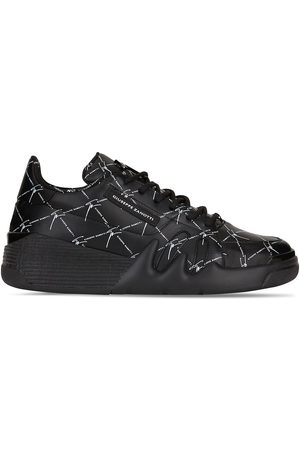 Giuseppe Zanotti Men Sneakers - Printed lace-up trainers