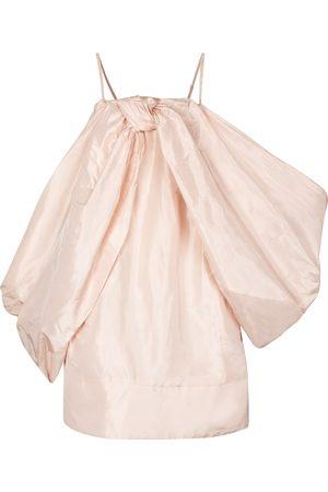 Simone Rocha Women Shorts - Exclusive to Mytheresa – Silk taffeta minidress