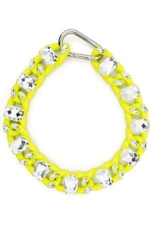 Philipp Plein Men Necklaces - Crystal chain choker