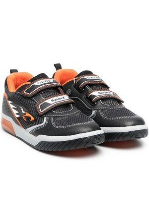 Geox Boys Sneakers - Two-tone touch-strap trainers
