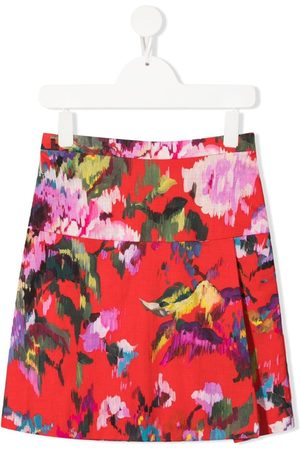 SEÑORITA LEMONIEZ Spring floral-print skirt