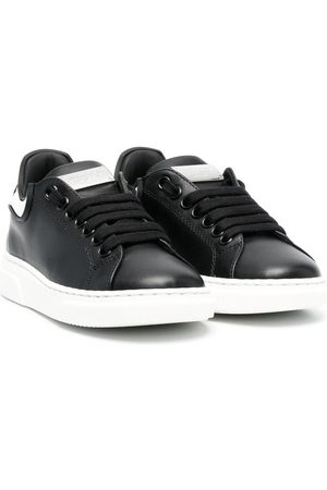 Philipp Plein Boys Shoes - Runner Iconic Plein leather trainers