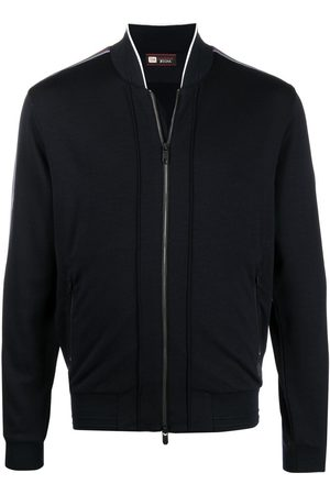 Z Zegna Men Hoodies - Lightweight zip-up jacket
