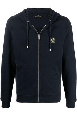 Belstaff Logo-patch cotton hoodie