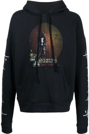 GREG LAUREN Men Sweatshirts - Los Angeles print hoodie