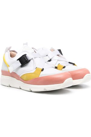 Chloé Girls Sneakers - Buckle-fastening trainers
