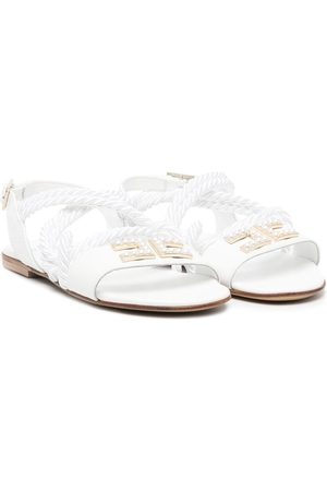 Elisabetta Franchi La Mia Bambina Girls Sandals - Multiple strap sandals