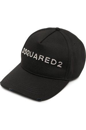 Dsquared2 Crystal-embellished logo baseball cap
