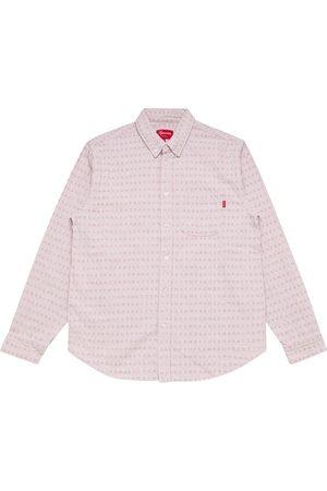 Supreme Logo-print denim shirt