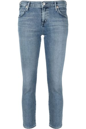Citizens of Humanity Low-rise cropped jeans