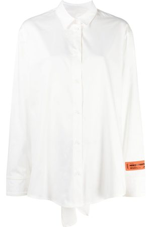 Heron Preston Women Long Sleeve - Long-sleeve open-back shirt