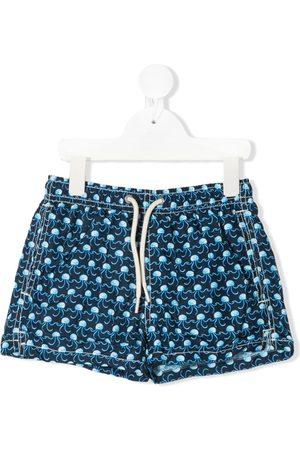 MC2 SAINT BARTH Jellyfish micro-print swim shorts