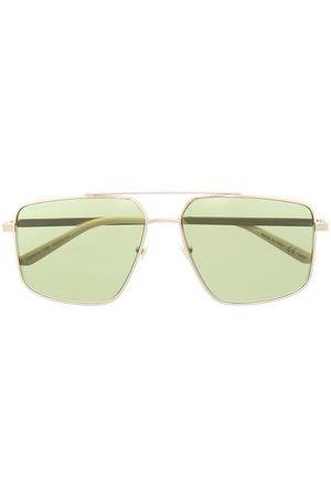 Gucci Naviagtor-frame logo sunglasses