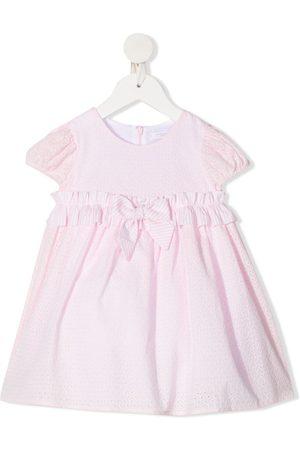 MONNALISA Bow short-sleeve dress