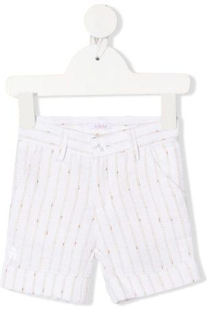Le Bebé Enfant Stripe print shorts