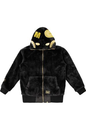 A Bathing Ape Fur Shark Hoodie Jacket M