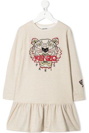 Kenzo Girls Casual Dresses - Chinese New Year Tiger sweatshirt dress