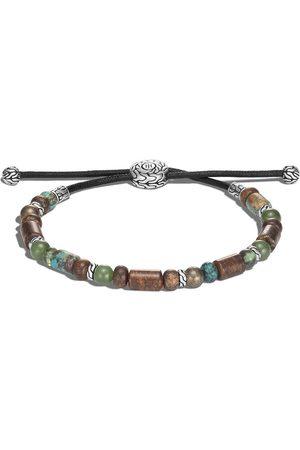John Hardy Men Bracelets - Classic Chain silver beads pull through bracelet