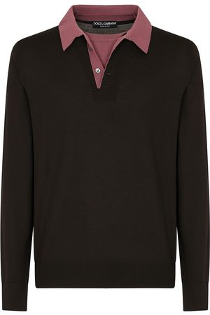 Dolce & Gabbana Two-tone long-sleeve jumper