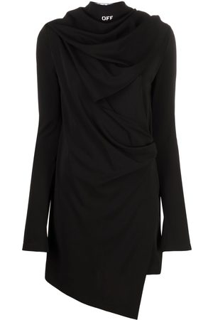 OFF-WHITE Bandana detail asymmetric dress