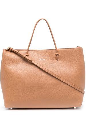 Furla Women Handbags - Essential leather tote bag