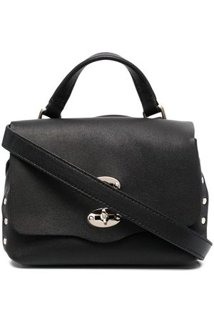 Zanellato Women Tote Bags - Stud-embellished leather tote bag