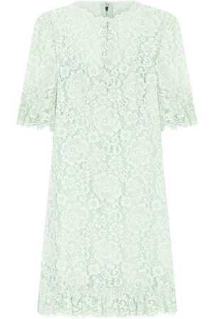 Dolce & Gabbana Women Party Dresses - Floral lace cocktail dresss