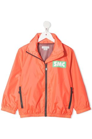 Stella McCartney Boys Rainwear - Logo-print recycled-polyester rain jacket