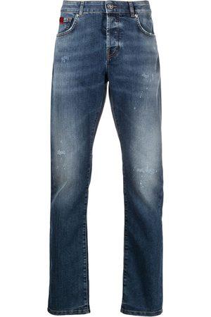 John Richmond Straight leg denim jeans
