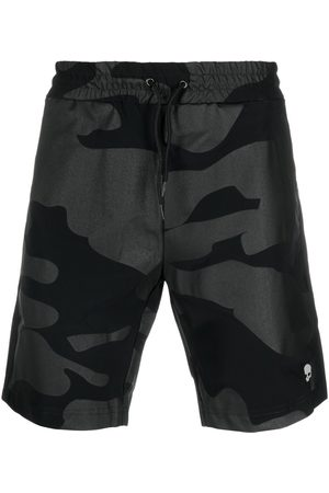 Hydrogen Tech quick-dry camouflage-print shorts
