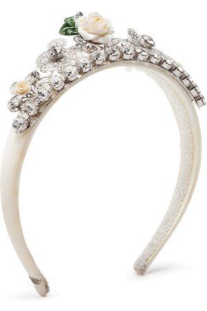 Dolce & Gabbana Crystal-embellished headband