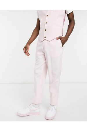 ASOS Men Skinny Pants - Wedding skinny suit trousers in rose
