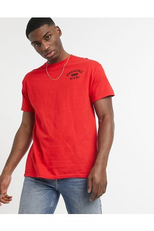 Aeropostale Men Short Sleeve - Miami small logo t-shirt
