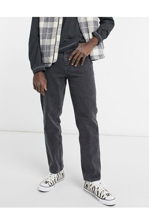 ASOS DESIGN Men Straight - High waisted jeans in washed