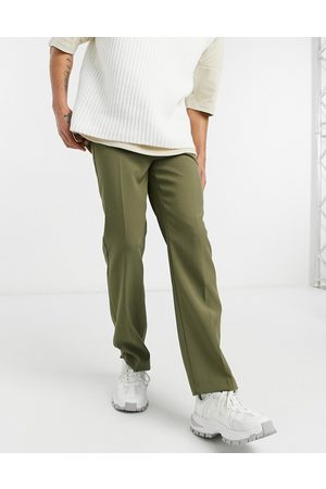 Mennace Aftermath straight suit trouser in