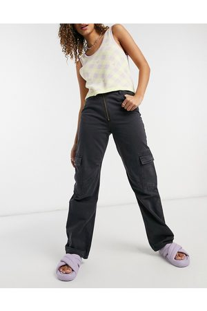 Weekday Abel organic cotton jeans with pockets in