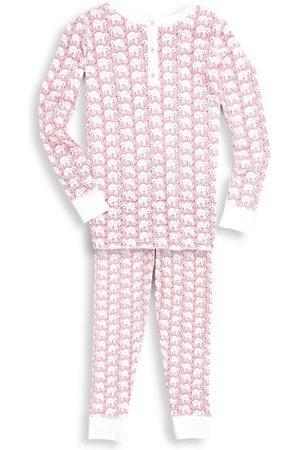 Roller Rabbit Girls Pyjamas - Baby's, Little Girl's & Girl's 2-Piece Elephant Print Pajama Set