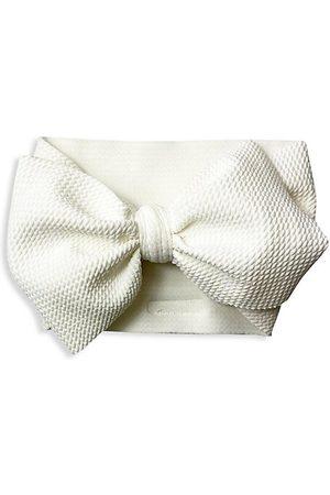 Mini Prep Baby Girl's Textured Bow Headwrap