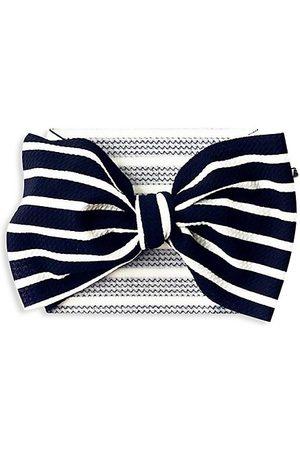 Mini Prep Baby Girl's Stripes Bow Headwrap