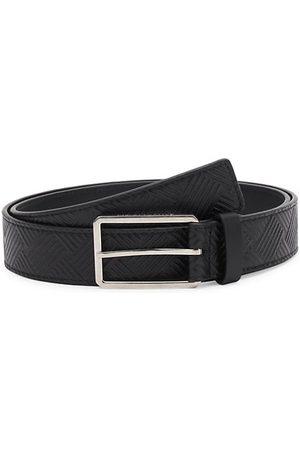 Bottega Veneta Men Belts - Textured Leather Belt