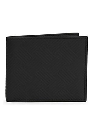 Bottega Veneta Men Wallets - Embossed Leather Billfold Wallet