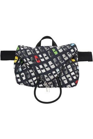 Bottega Veneta Men Belts - Beak Car-Print Belt Bag