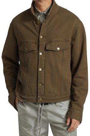 FEAR OF GOD Men Fleece Jackets - Fleece Trucker Jacket